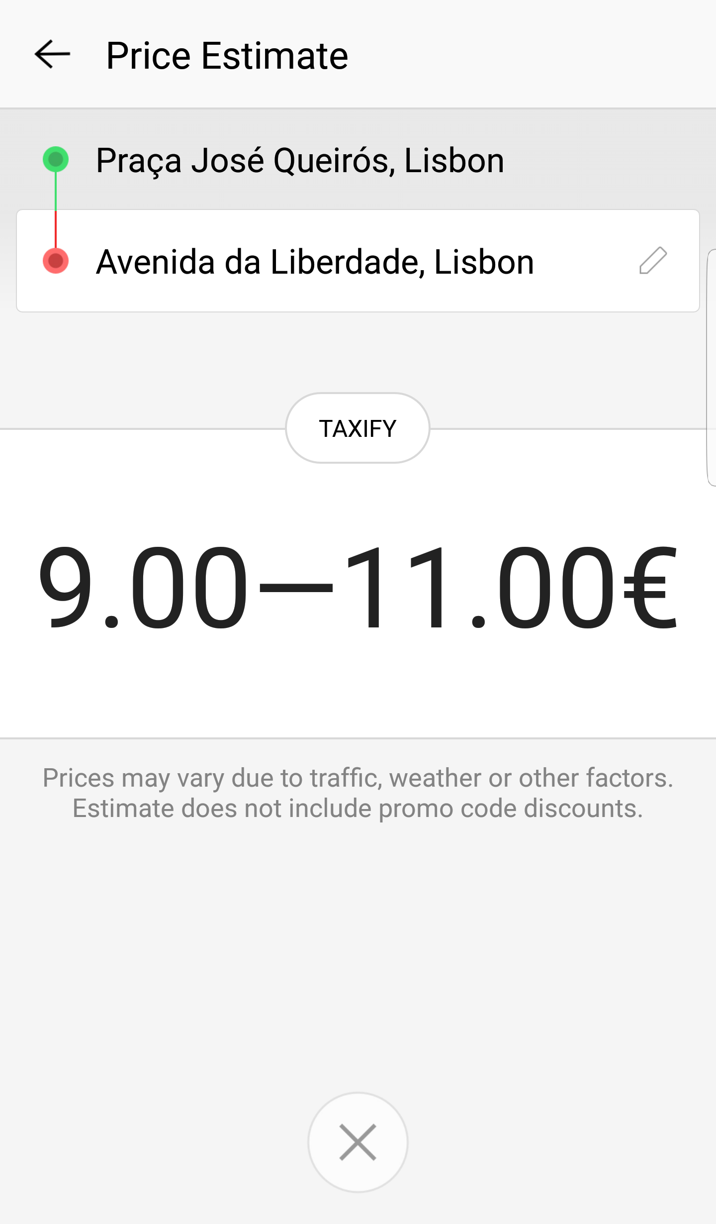 taxify-app-exemplo