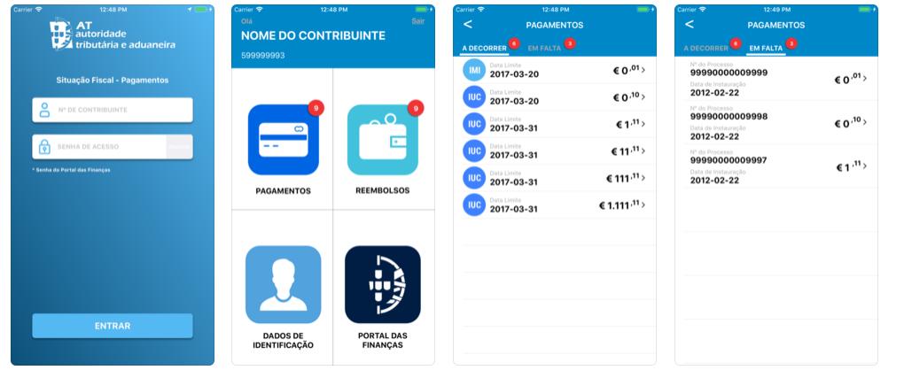 app finanças